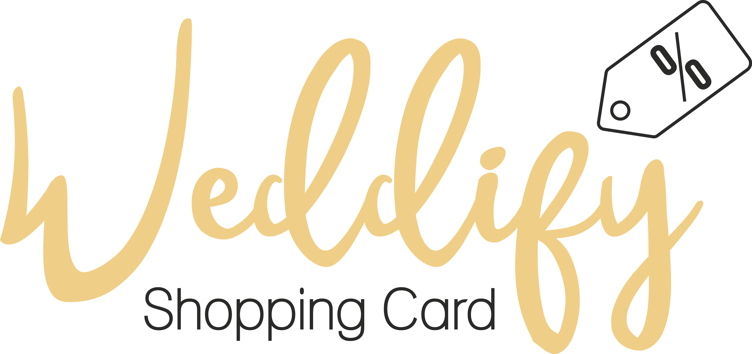 Weddify – Die Shopping Card