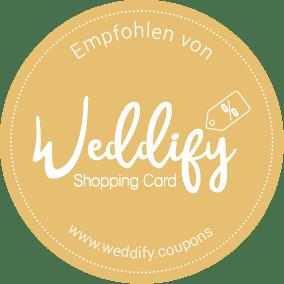 Weddify Shopping Card